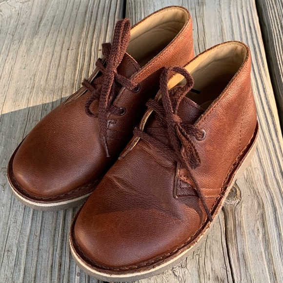 43203f71bfe89 Clarks Shoes | Original Leather Desert Boot Toddler 9w | Poshmark